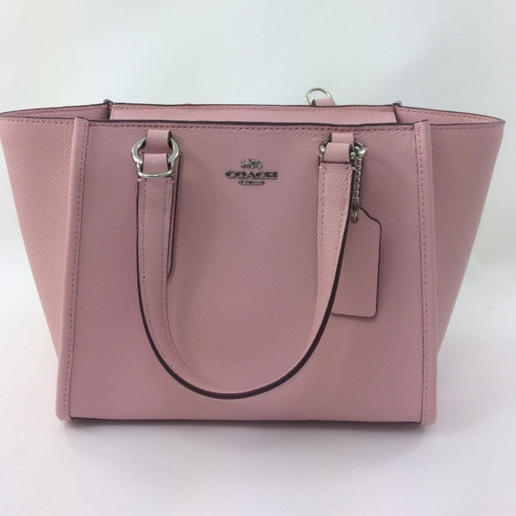 b8bb05a6cefb Coach Blush Crossbody Crossgrain